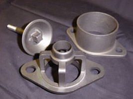 Ferralloy supplying machined investment castings to water treatment customer.