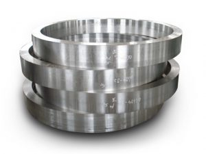 Rolled Ring Forging Process can be accomplished at Ferralloy Inc!