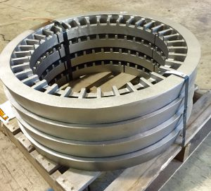 heat treat support rings shipped