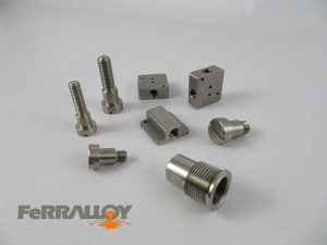 machined stainless steel components