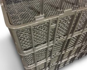Who has heat treating baskets?