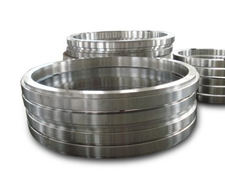 What is rolled ring forging?